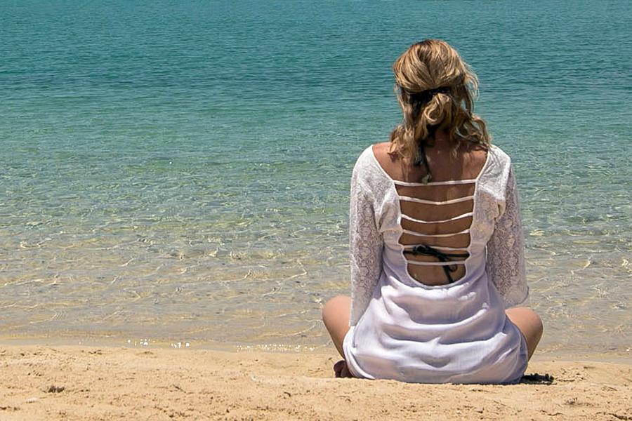 Meditation at the shore