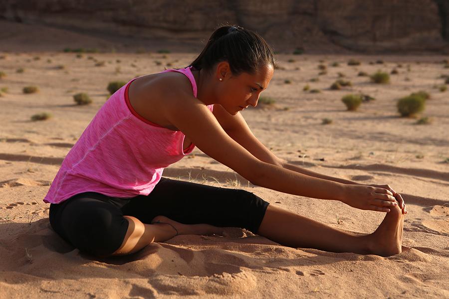Yoga desert retreat